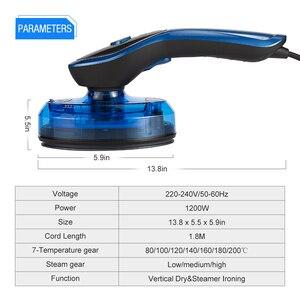 Image 4 - ANIMORE Hoge Kwaliteit Draagbare Stoomboot Voor Kleding Generator Strijken Steamer Voor Ondergoed Kledingstuk Stoomboot Handheld Stoomstrijkijzer