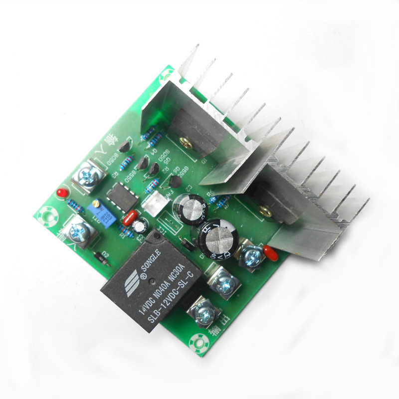500W 12V inverter driver board / circuit board / drive core transformer / super transistor driven 12V L 220V inverter drive board power frequency transformer driver board dc12v to ac220v home inverter drive board