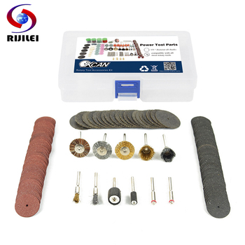 RIJILEI 151PCS BIT SET SUIT MINI DRILL ROTARY TOOL FIT DREMEL Grinding Carving Polishing Tool Sets Grinder Head,Sanding Disc tool tool lateralus 2 lp picture disc