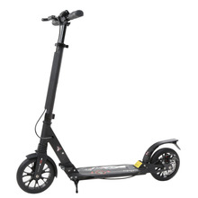 2019 New Aluminum Alloy Body Height Adjustable Adults Urban Young People Folding Scooter Play Two Wheels Kick Scooter Great Gift