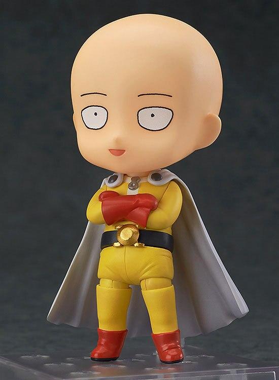 NEW hot 10cm Q version ONE PUNCH MAN Saitama Sensei movable Nendoroid Mini Action figure toys collection christmas toy