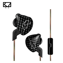 Original KZ ZST Armature Dual Driver Earphone Detachable Cable In Ear Audio Monitors Noise Isolating HiFi Music Sports Earbuds