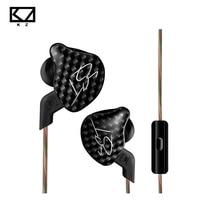 KZ ZST L Bending In Ear Earphone Hybrid Drive HIFI Running Sport Earphones Earplug Earphone With