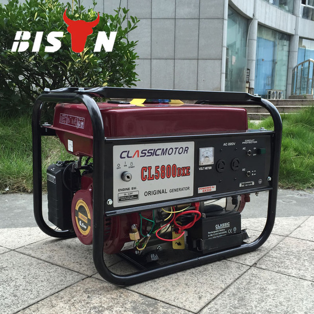 US $136 0 |BISON(CHINA) Promotion 2kw Chinese Generator Price Mini Small  Magnet Alternator Electric Power 8500W Gasoline Generator-in Gasoline