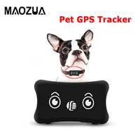 Maozua TK200 Mini Pet GPS Tracker Global Locator Pets Anti Lost Waterproof GPS Dog Tracker Real Time Tracking Device