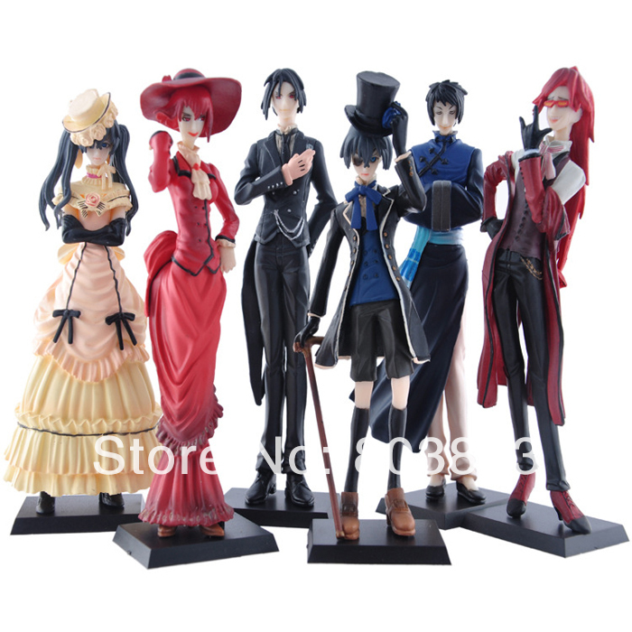 Aliexpress.com : Buy PVC Resin Anime Princess Kuroshitsuji ...
