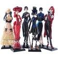 Resina de PVC Anime Princess Kuroshitsuji Negro Mayordomo Figuras de Acción Juguetes Modelo Regalo de Cumpleaños Decoración Artesanía