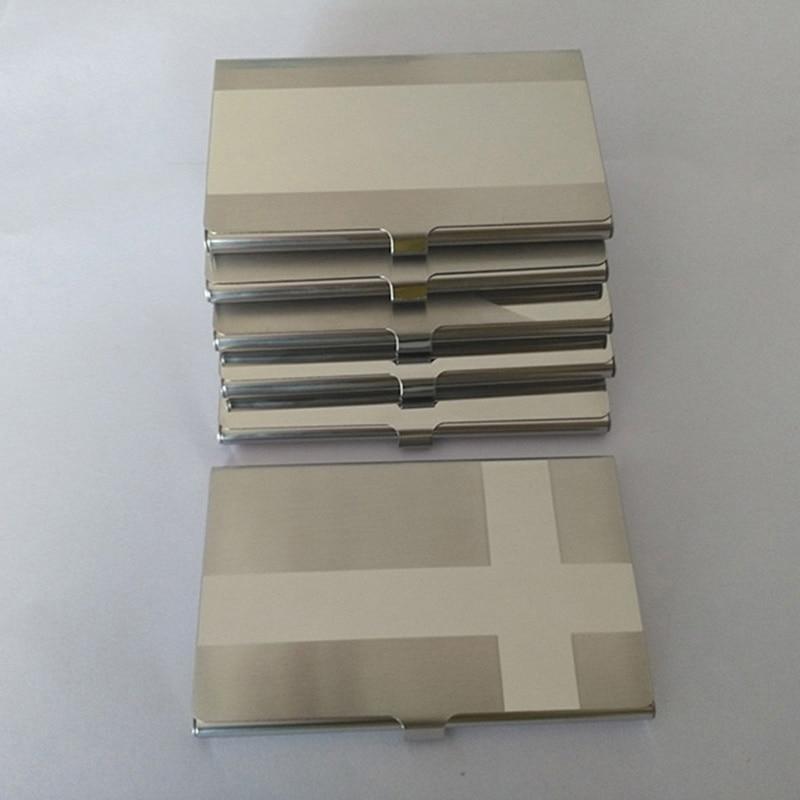 √New Stainless Steel Aluminum Cardholder Business Card Holder Hot ...