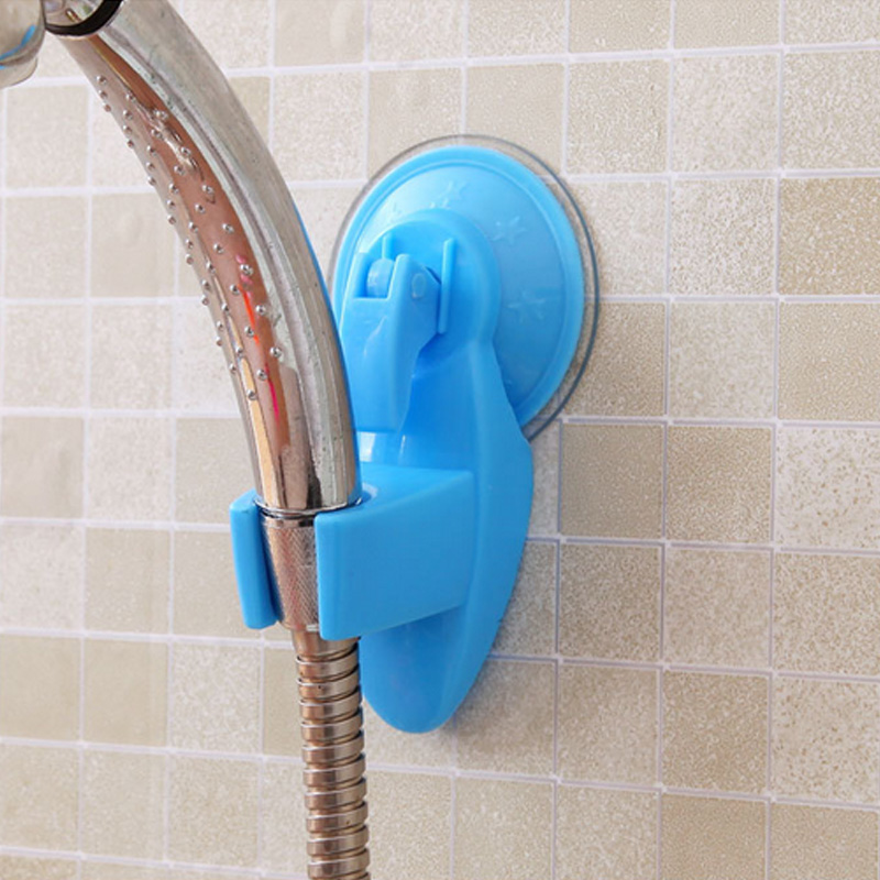 Home Bathroom Shower Head Holder Wall Suction Vacuum Cup Wall Mount Adjustable Faucet Holder High Quality Solid Sucker