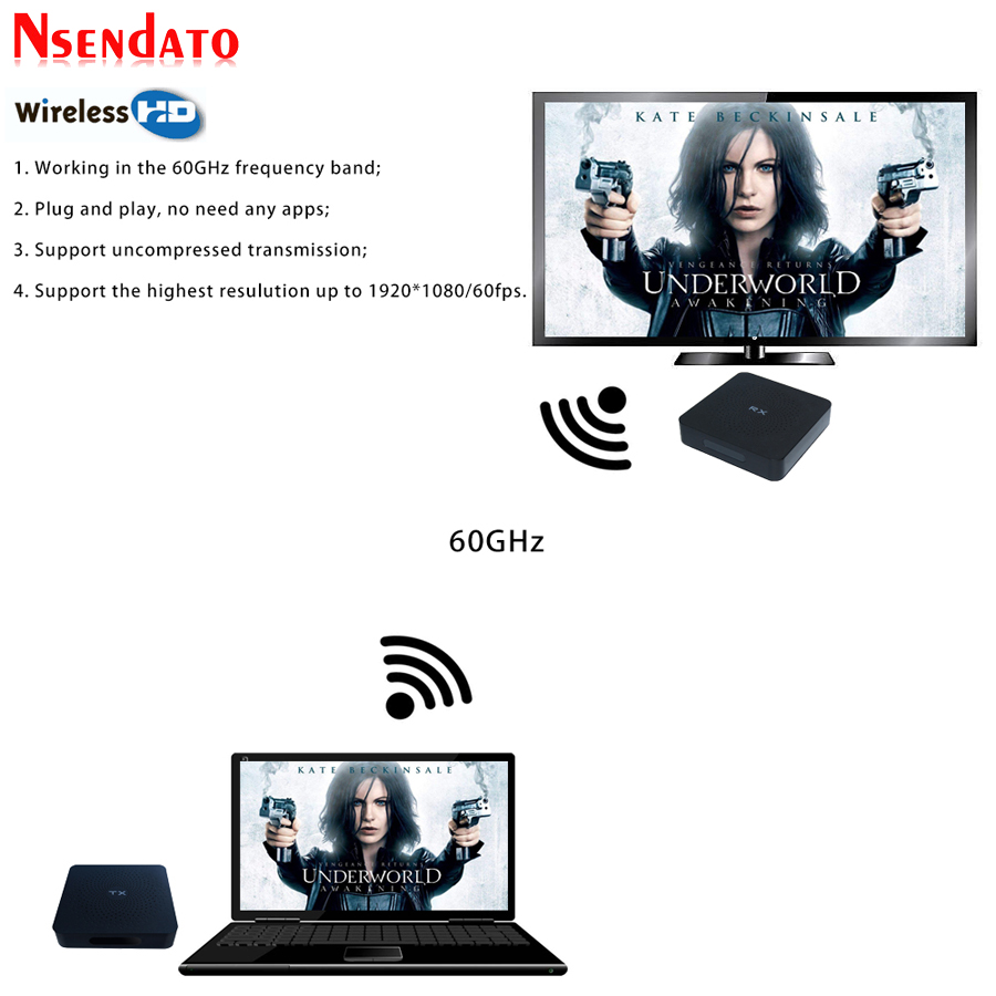 Measy W2H беспроводной приемник передатчика HDMI удлинитель 1080 P HDMI Dlna Airplay Wifi дисплей Miracast Airmirroring ТВ палка ключ