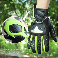 Motorcycle Gloves Accessories Protective Gears Mitten Motorcycles Full Finger Breathable Gloves Breaking Proof Touchscreen