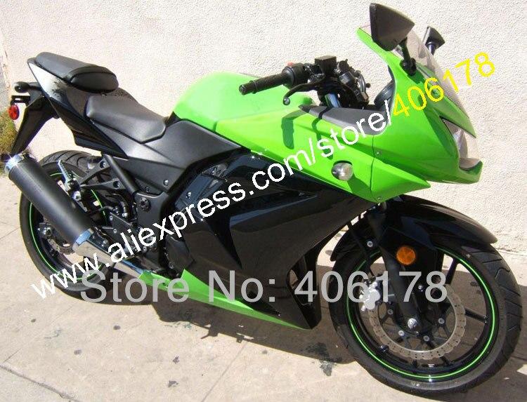 Hot Sales,For KAWASAKI NINJA 250R 08 09 10 11 12 ZX250R ZX 250R ZX250 R 2008 2009 2010 2011 2012 Fairing(Injection molding)