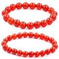 Pulseiras de Ágata vermelha Buda Pulseiras pulseras bijoux Corda Cadeia Pedra Natural pulseiras Pulseiras Mulheres Homens Jóias