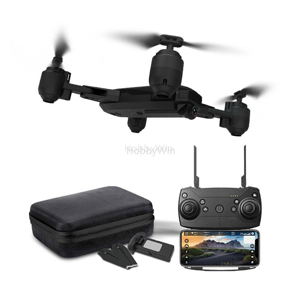 HR H1 GPS positionnement Global Drone FPV 2.4G noir course RC quadrirotor