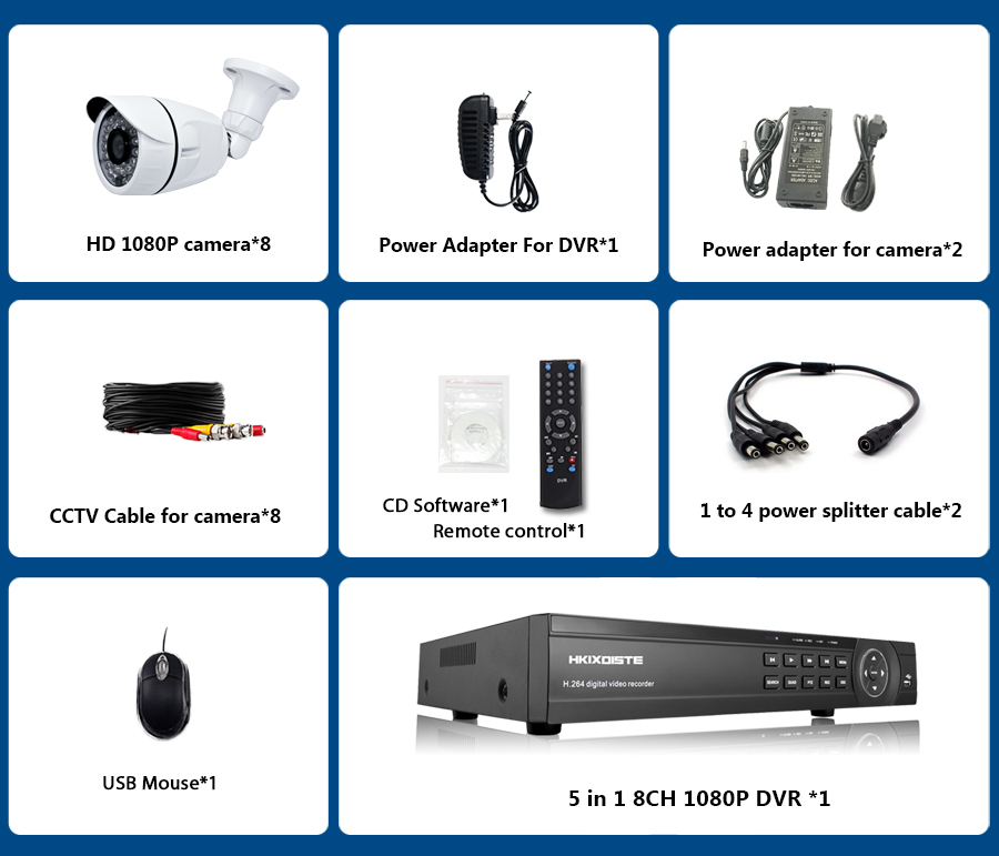 home camera system BVXD