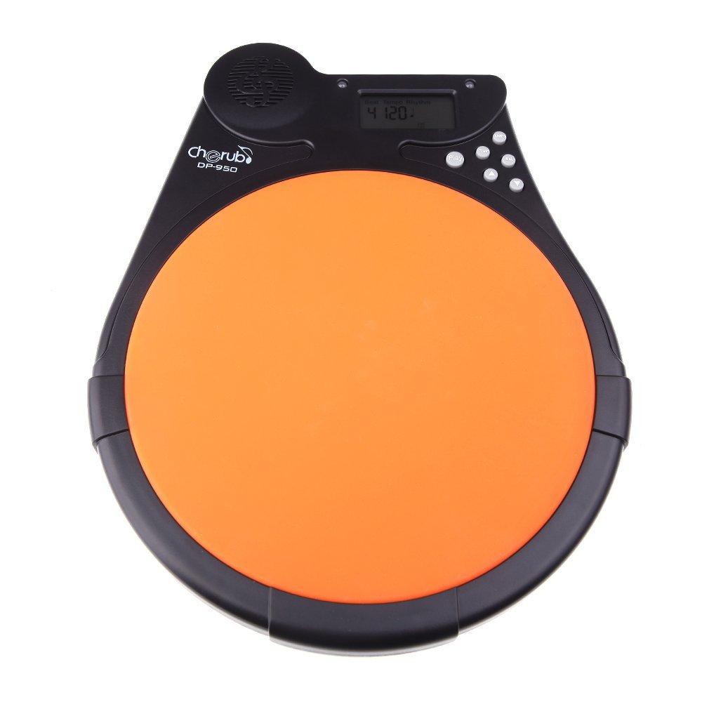 DP-950 Mute Drum Tutor Practice Drum Pad Lightweight and portable design Cherub басовый пэд millenium e drum bass drum pad