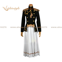 Kisstyle Fashion Hetalia: Axis Powers Japan/Honda Kiku Reversion Female Uniform Clothing Cosplay Costume,Customized Accepted