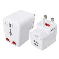 Universal To US UK AU EU World Travel AC Power Adapter Plug Socket Converter Wall Charger