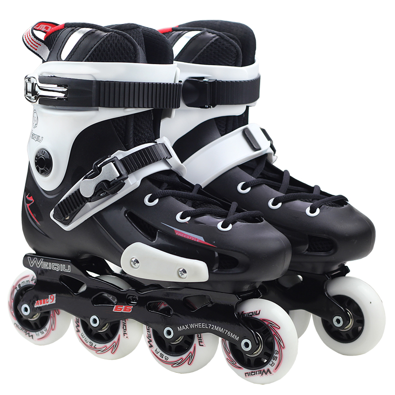 ФОТО NEW Men Women Professional Inline Skates Shoes Freestyle Patines Roller Skating Shoes for Adults