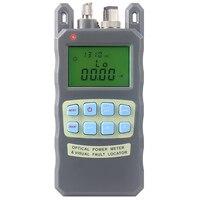 Все-в-одном волоконно-оптический измеритель мощности-70 до + 10 дБм и 10 мВт 10 км волоконно-оптический кабель тестер Визуальный дефектоскоп