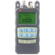 All-IN-ONE miernik mocy optycznej-70 do + 10dBm Fiber i 10 mw 10 km Światłowód Tester Wizualny Lokalizator uszkodzeń