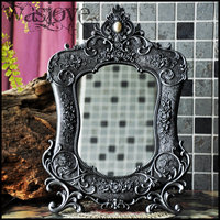 European with antique mirror frame vanity mirror for makeup table makeup table decorative mirror for home decoration J025