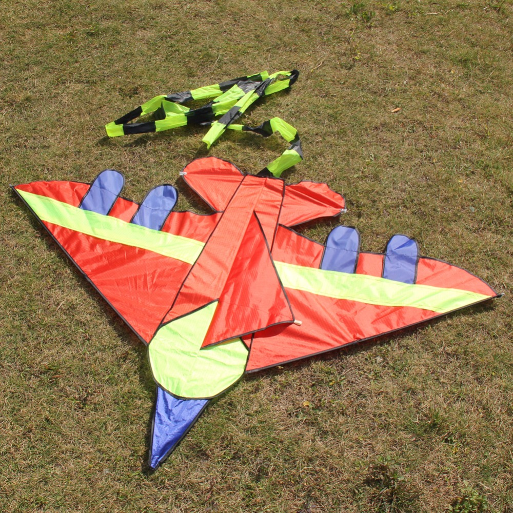 Cool Giant Fighter Kite Durable Novelty Flying Toys Wholesale Gentle Breeze Fly Outdoor Kids Children Toy Gift High Quality