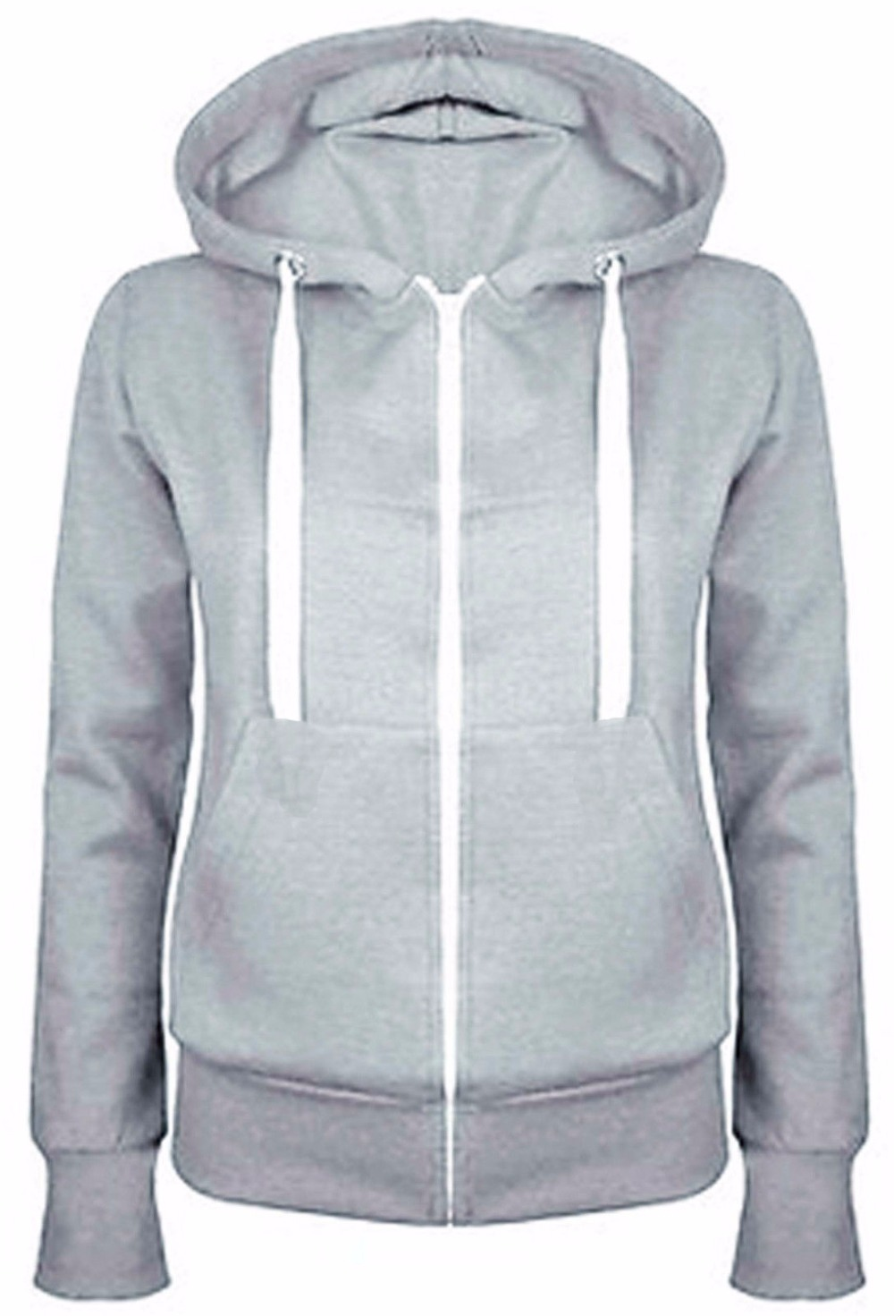 Popular Plain Zipper Hoodies-Buy Cheap Plain Zipper Hoodies lots ...