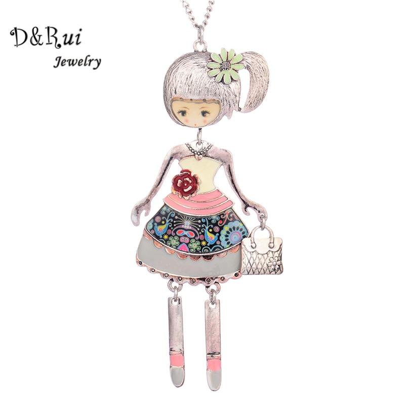 2017 Dance Doll Pendants Necklace s