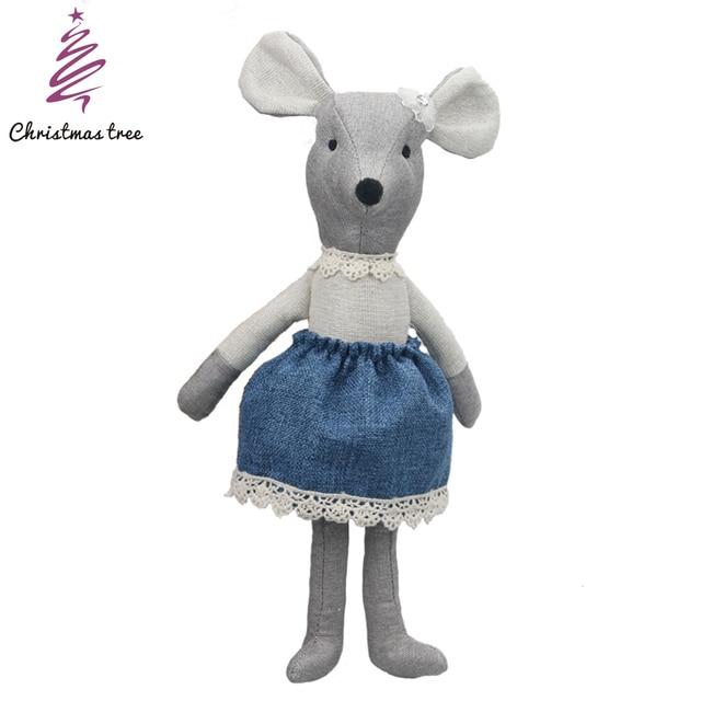 Baby toy mouse Baby  sleep comfortable soft plush rabbit plush doll bed calm smooth wedding christmas gift
