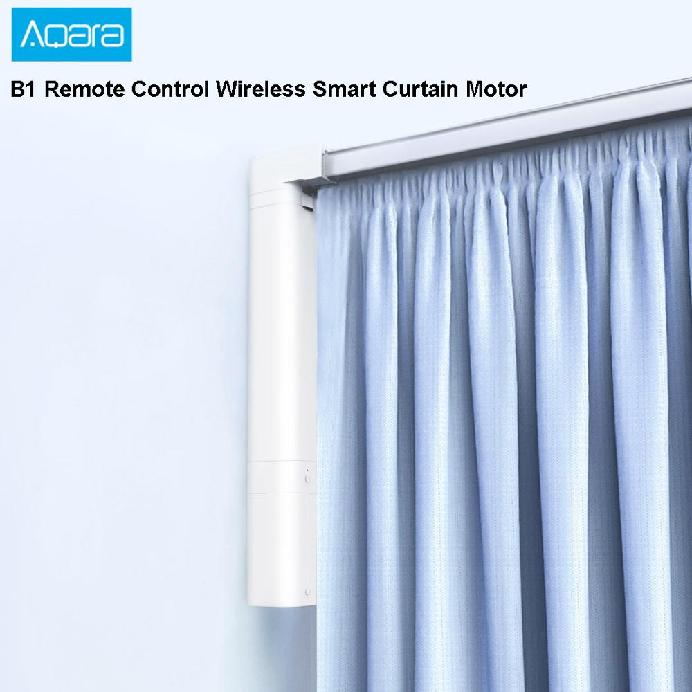 HOT 2019 Xiaomi Aqara B1 Smart Curtain Motor APP Remote Control Wireless Timing Motorized Electric Curtain Motor For Smart Home