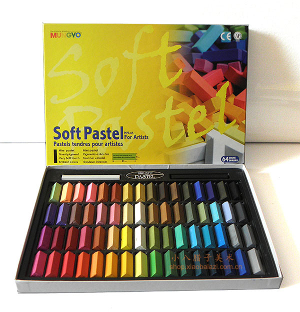 MUNGYO MPS soft pastels 24/32/48/64 colors ART drawing supplies DIY Hair dyed color make up image