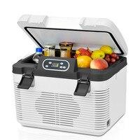 19L двухъядерный автомобиль/Ho использовать держать использовать мини холодильник портативный холодильник маленький Хо использовать держат