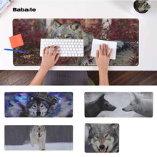 Babaite  wolf Office Mice Gamer Soft Mouse Pad Speed/Control Version Large Gaming Mouse Pad evans rf6gm 6 mountable speed pad