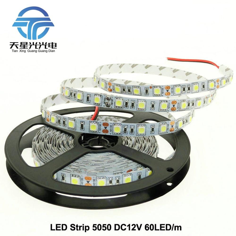 TXG Ingyenes szállítás LED szalag 5050 DC12V Rugalmas LED fény - LED Világítás - Fénykép 1