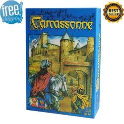 Каркассон настольная игра 2-5 игроков карты игры для вечерние друзья легко играть с бесплатной доставкой