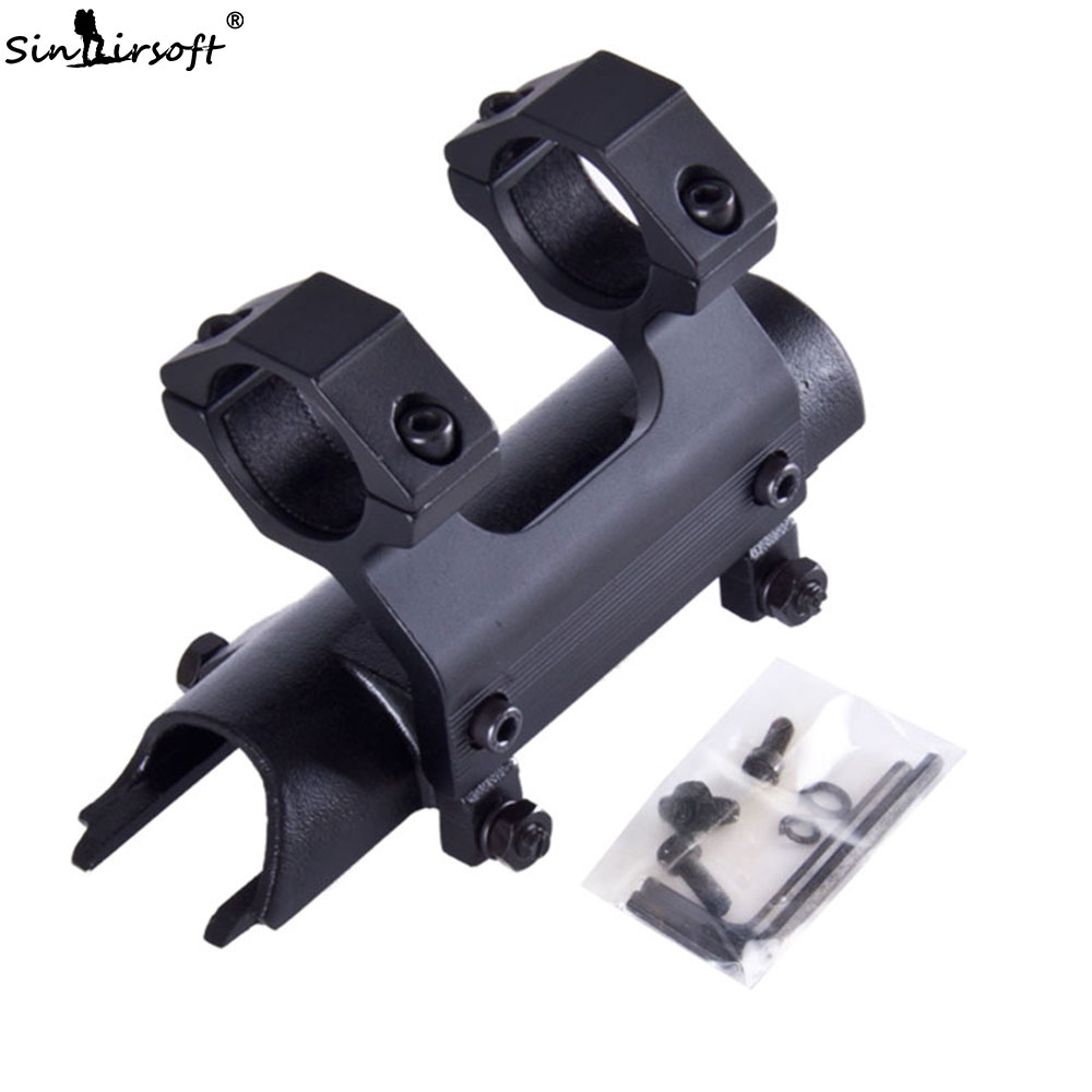 SINAIRSOFT 5th Gen SKS 5th Gen Hi-profile Integral See-thru Mount Complete With 1