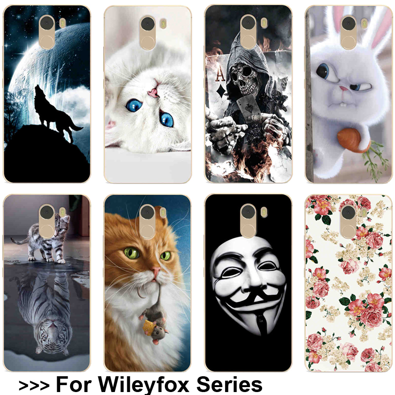 Various Patterned Case For Wileyfox Swift 2X Swift 2 Plus Soft TPU For Wileyfox Spark X Spark Plus Case Phone Back Cover