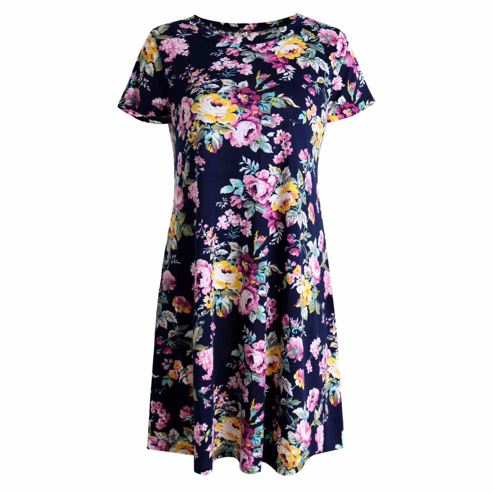 2019 Top Selling Woman Dress Sommer Elegant Blomster Vintage - Dametøj - Foto 5