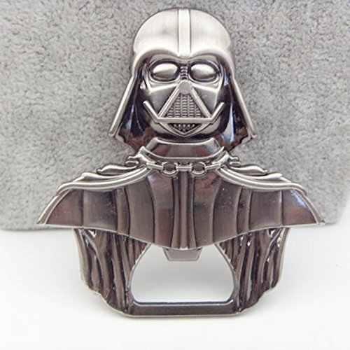 Metal aleación estilo Star Wars Darth Vader aleación cerveza abridor de botellas llavero joyería juguete alta calidad abridores para herramientas de cocina