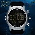 Мужские часы Diver Водонепроницаемые 100 м умные цифровые часы спортивные военные армейские часы для дайвинга альтиметр барометр часы с компас...