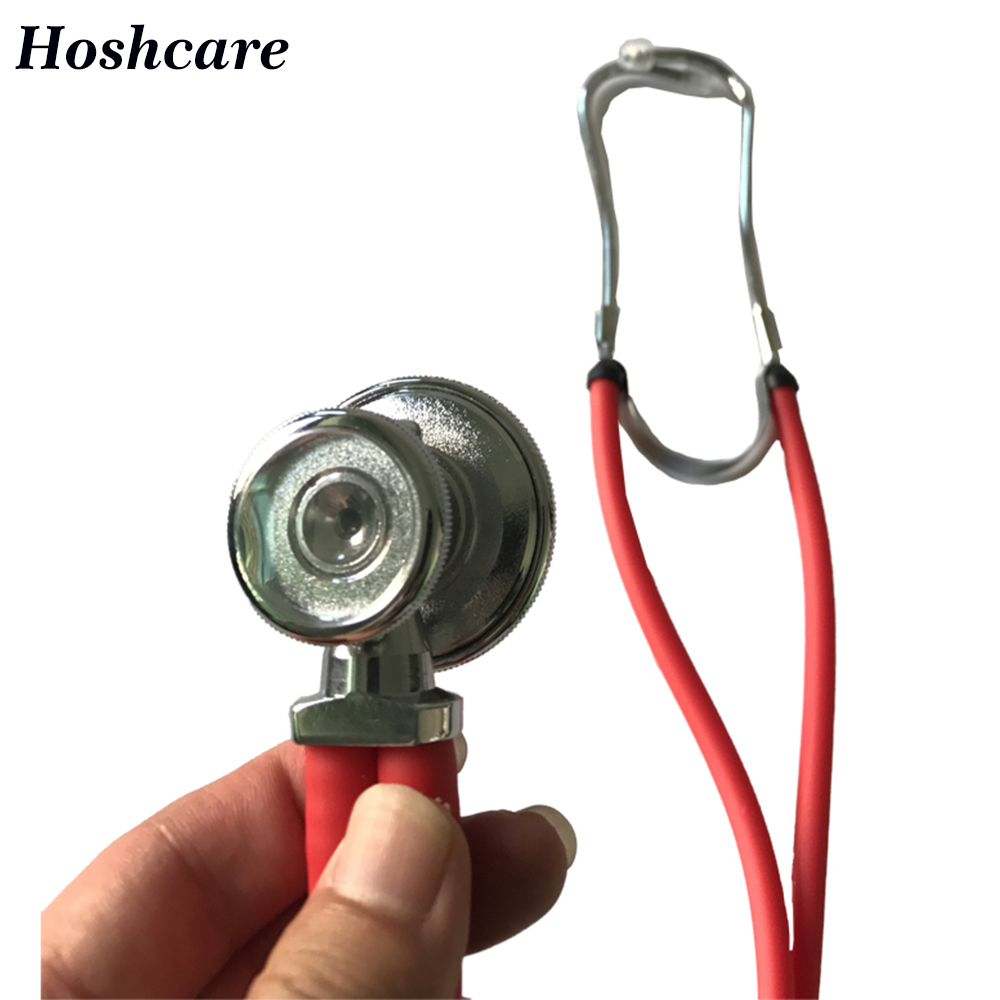 Multifunctional Professional Stethoscope Medical Double Dual Head Stethoscope pink purple blue green black for Children Adult