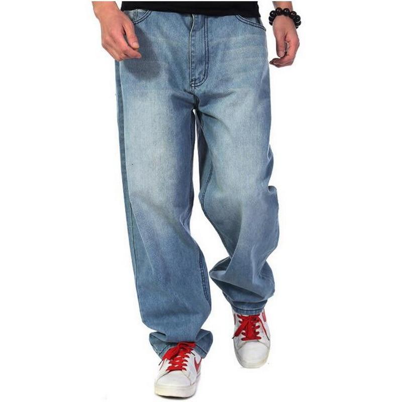 2019 VXO Baggy Jeans Men Denim Pants Loose Streetwear ...