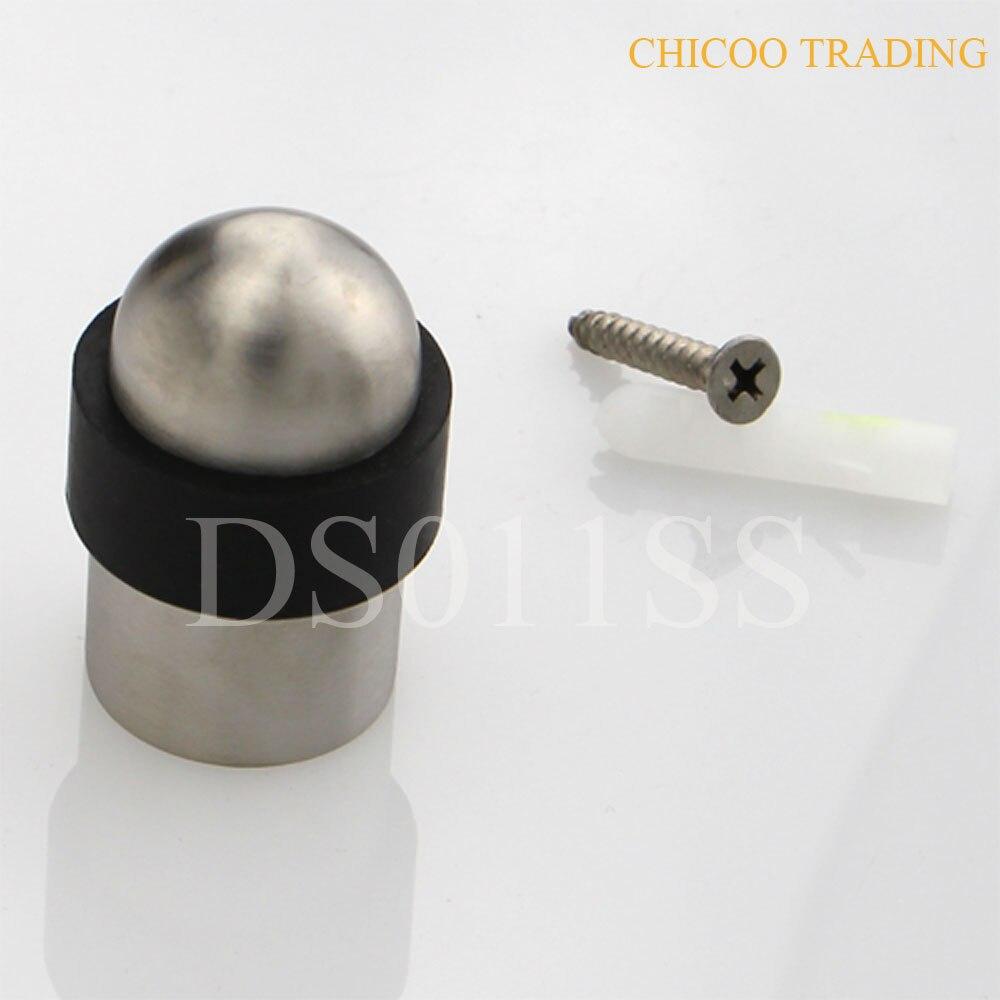 50pcs Wholesale 50mm High Bullet Type Door Stop For Glass Door 304