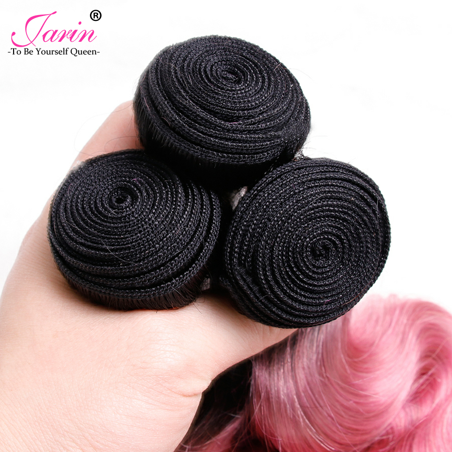 100% Burmese Human Hair Body Wave 2 Bundles Deal Free Shipping Pink Fashion Color Long Bob Hair Style Remy Jarin 8A Grade Jarin