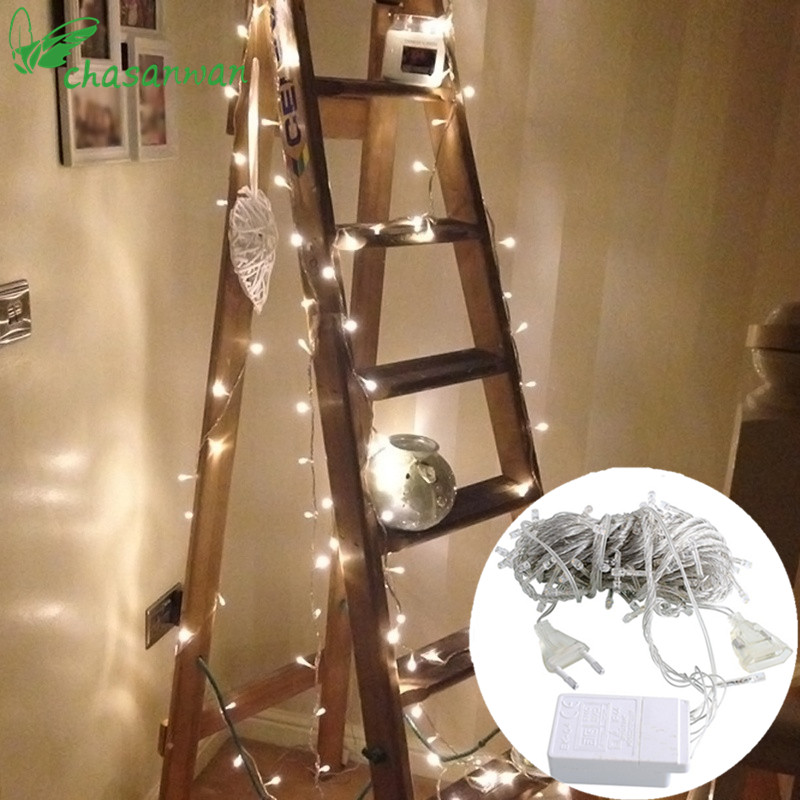 Romantic 10M 100-LED Strip Light Wedding Decoration Baby Shower Bachelorette Party Decoration Home Decoration Accessories,Q