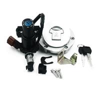 Motorcycle Fuel Gas Cap Tank Cover Ignition Switch Seat Lock Key for Honda CBR600 03 06