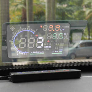 Auto-Accessories Display Head-Up-Display-System Car Hud Reflective-Film Overspeed Ii-Fuel-Consumption