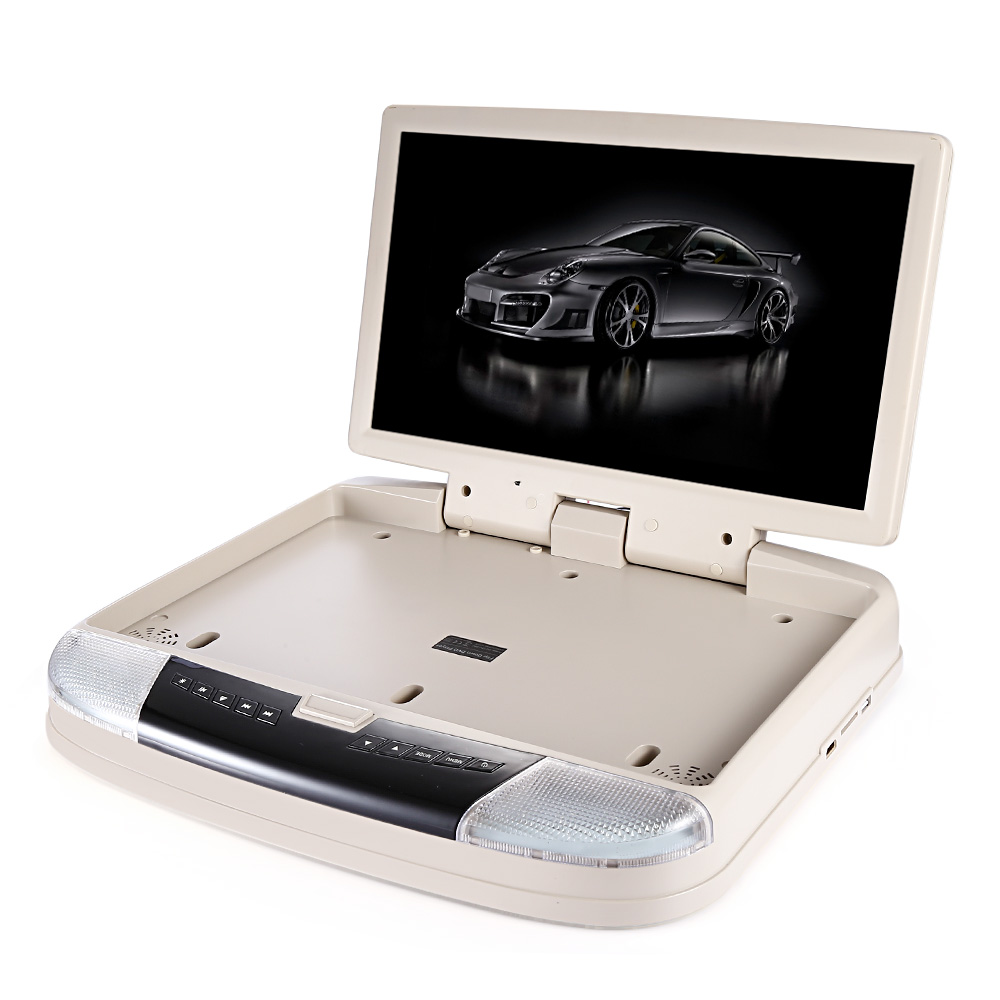 15.6 Inch OS - 1588D Roof Mount Player System with USB IR FM Transmitter HDMI Wireless Games