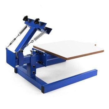 Silk Screen Printing Machine 1 color 1 station DIY T-Shirt Press Printer Single Color